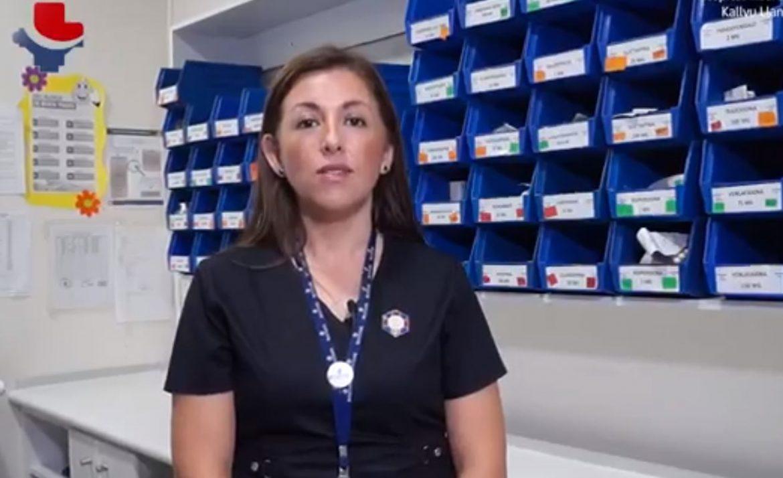 EL HOSPITAL KALLVU LLANKA DE CAÑETE IMPLEMENTÓ NUEVA MODALIDAD DE ENTREGA DE MEDICAMENTOS