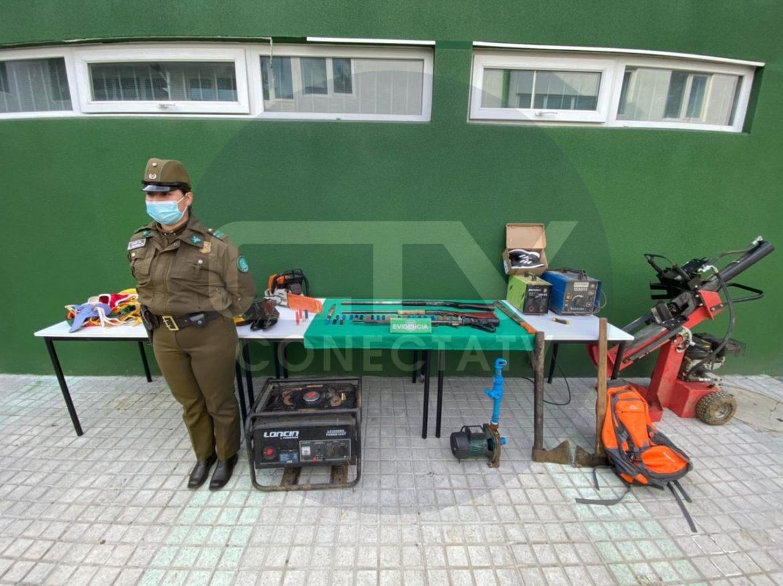 CARABINEROS DETIENE A 4 MENORES QUE PROTAGONIZAN VIOLENTO ROBO EN ARAUCO