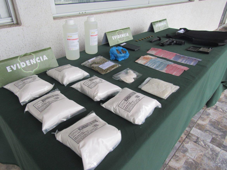 OS7 DE CARABINEROS DESARTICULA BANDA CRIMINAL DEDICADA AL TRÁFICO DE DROGAS