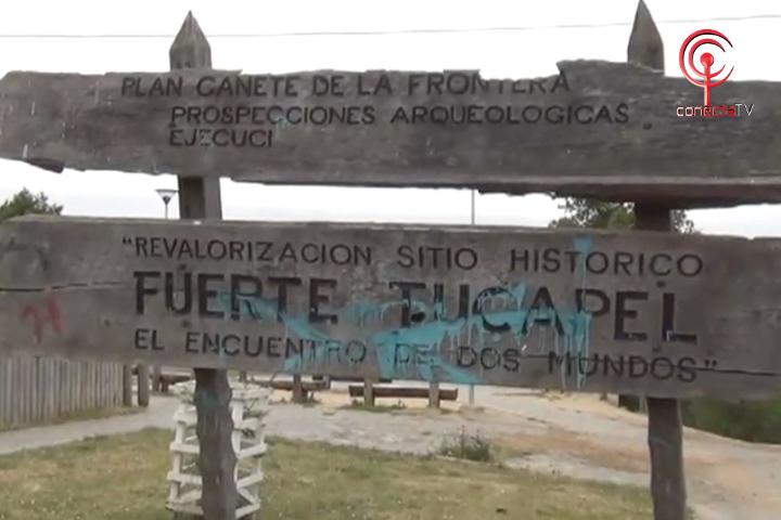 Preocupación por estado de abandono de Fuerte Tucapel