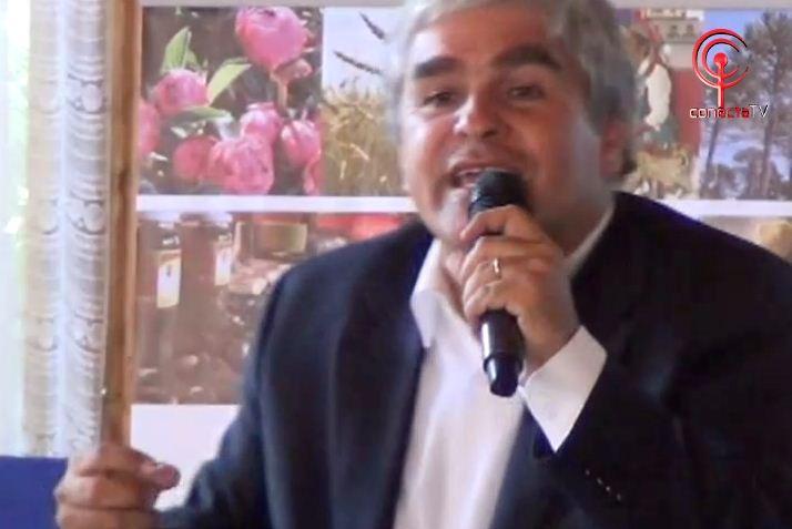 Nicolás Larraín dicto charla motivacional a emprendedores locales
