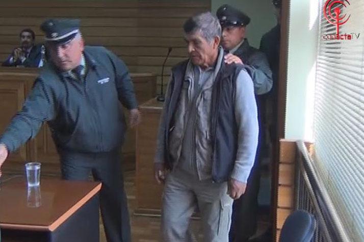 Parcelero que dio muerte a Carabinero quedó con arresto domiciliario