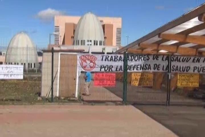 Molestos están los usuarios del hospital de Cañete por paro de funcionarios