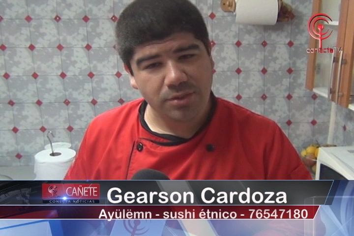 Emprendedor cañetino mezcla sabores de Japón con el pueblo Mapuche