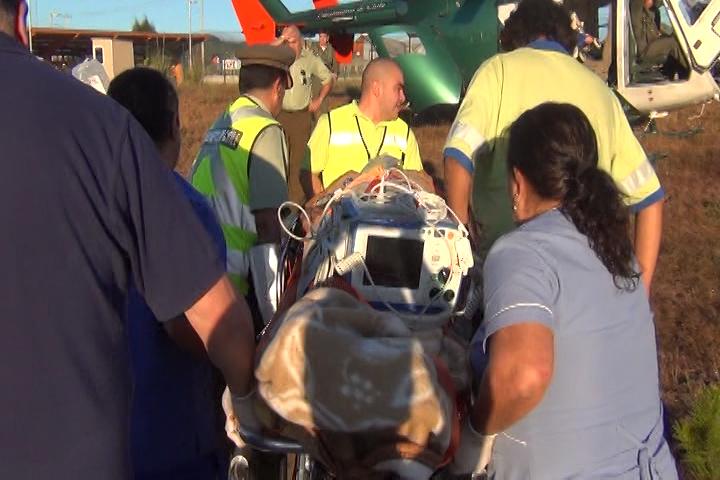 Hijo de prefecto de Carabineros de Arauco fue herido a bala en ataque a helicóptero en Tirúa