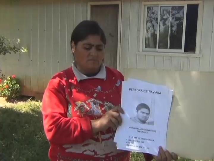 Cañetino se perdió hace 6 meses y su familia ya perdió las esperanzas de hallarlo con vida