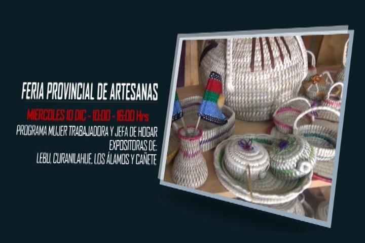 Promoción de feria provincial de artesanas