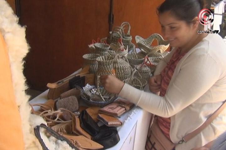 Más de 25 artesanas expusieron sus productos en feria provincial en Cañete