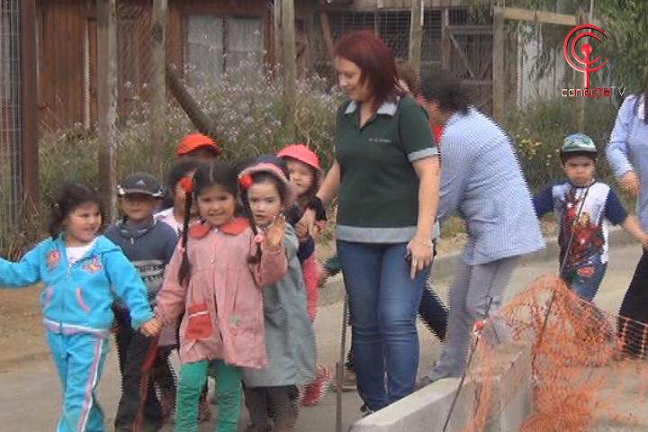 Fuga de gas obligó a evacuar jardín infantil Los Notros de Cañete