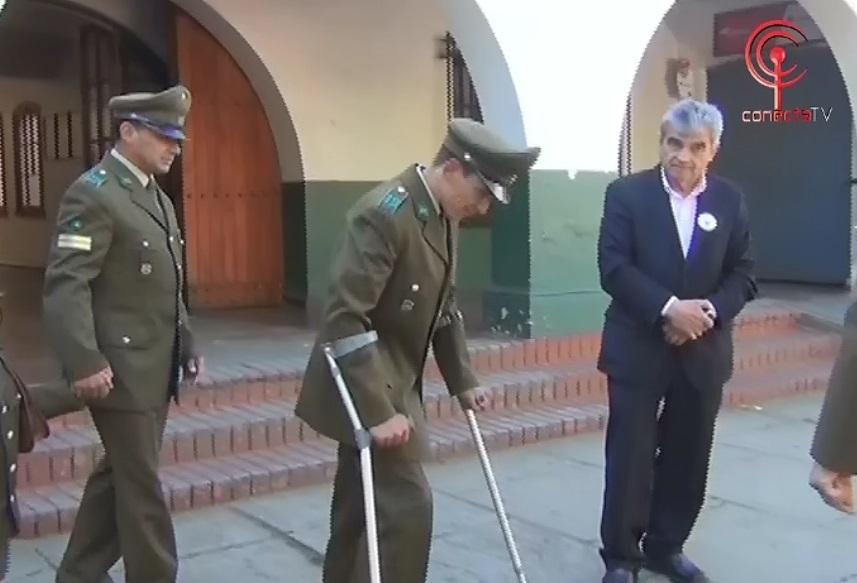 Carabineros cumplió sueño de joven parapléjico que quería vestir de verde