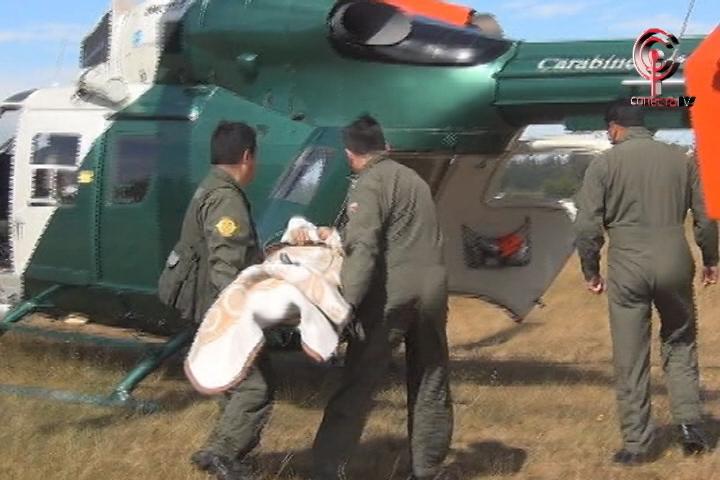 Mujer fue trasladada de urgencia a hospital regional tras sufrir caída en el baño de su casa