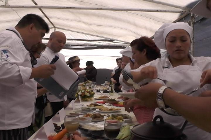 Chef locales se lucieron en competencia gastronómica de la FAGAF Cañete 2015