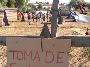 15 familias se toman terrenos del INDAP en Cañete