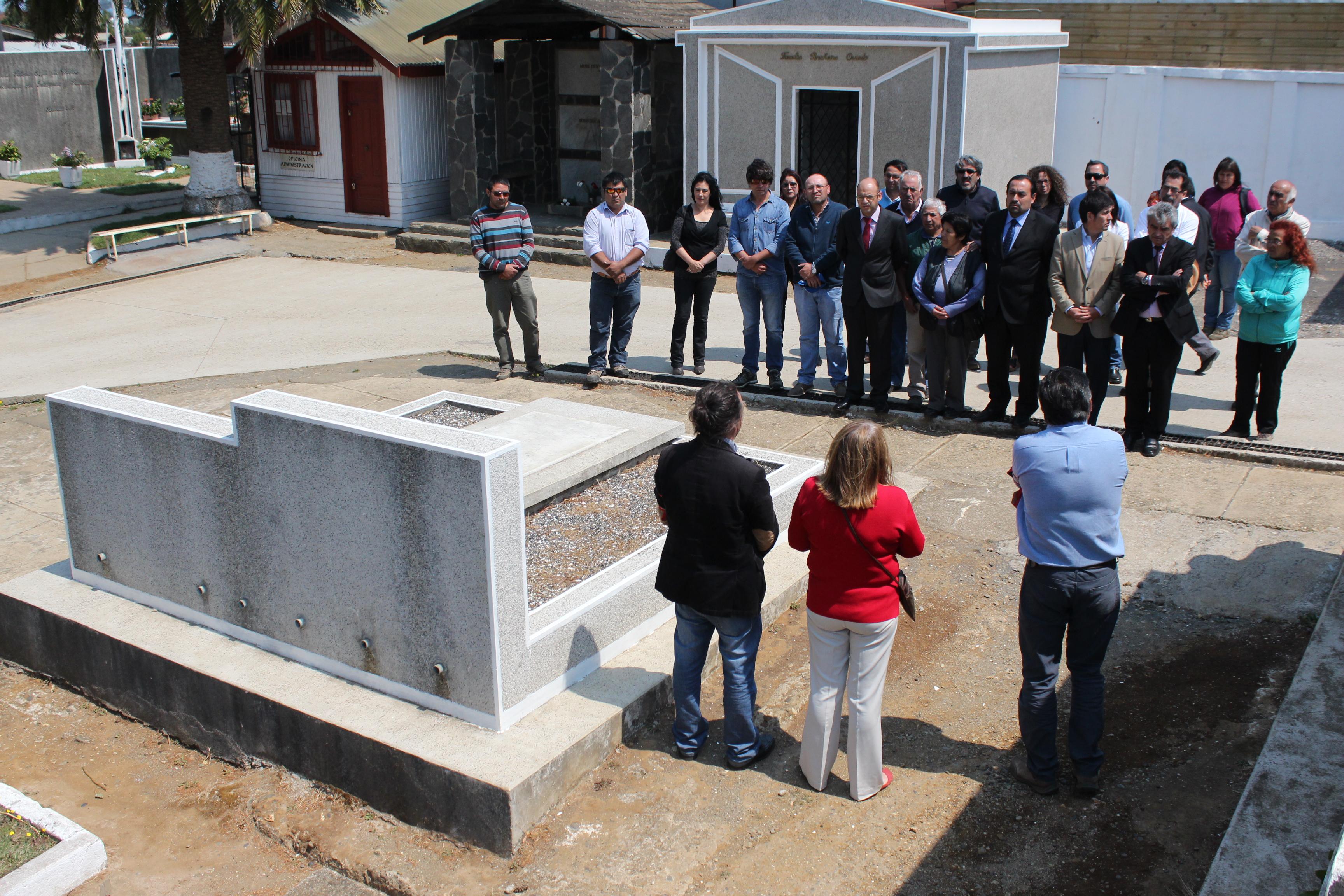 En Cañete se recordaron los 40 años del asesinato de ex alcalde