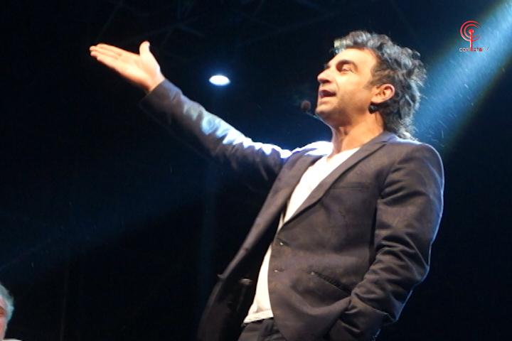 Rutina de Jorge Alís sacó carcajadas en la FAGAF Cañete 2015