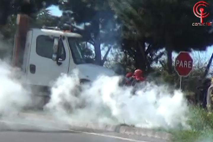 Cuatro detenidos y disturbios deja diligencia policial en Antiquina