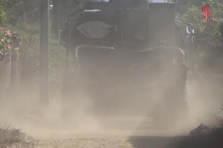 Vecinos de Huillincó dejarán de sufrir con el polvo de las calles