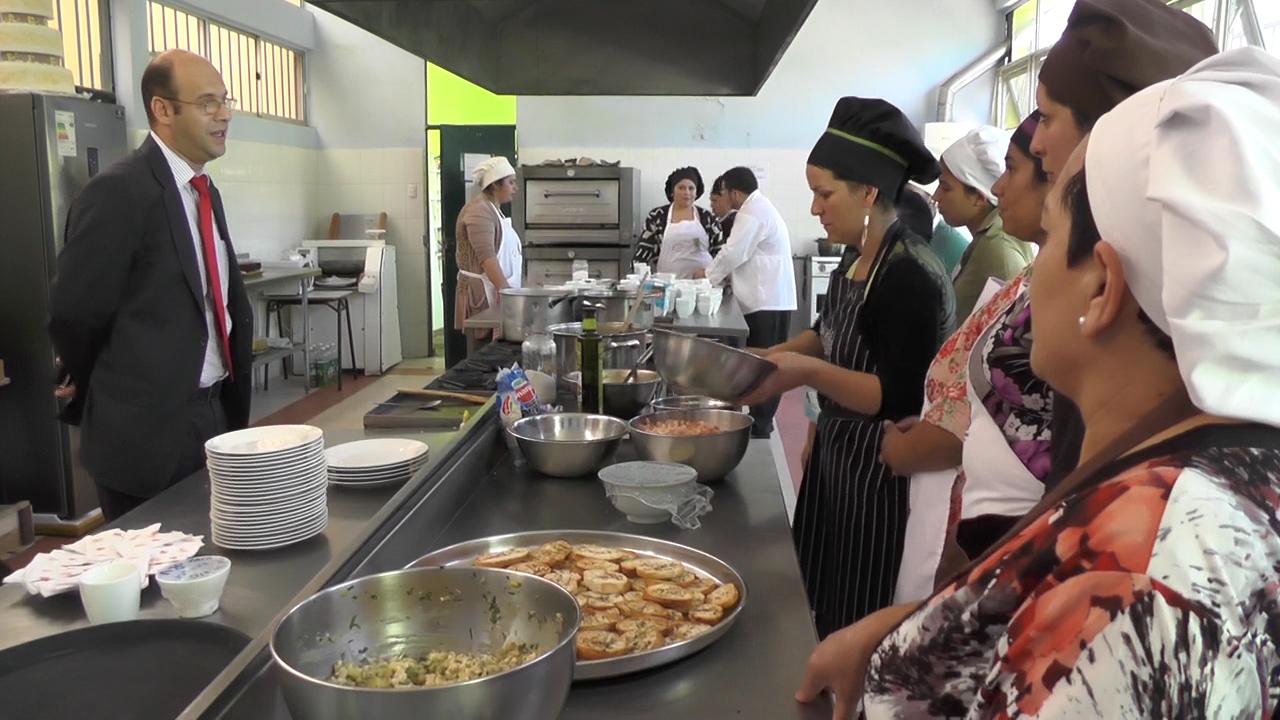Cañetinas aprendieron cocina nacional e internacional a través del SENCE