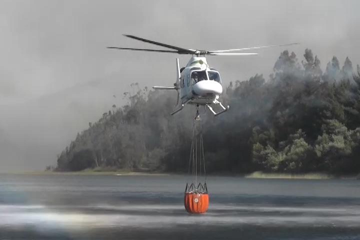 En Lanalhue los vecinos están preocupados por los incendios forestales