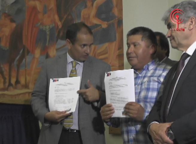 Gobierno y comunidades indígenas firman acuerdo de inversión pública en la zona