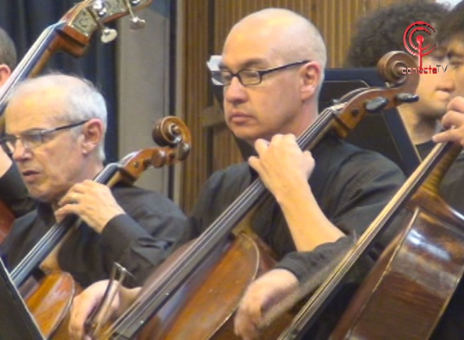 Orquesta Sinfónica de la Universidad de Concepción deleitó a cañetinos