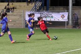 Cañete se coronó campeón de fútbol femenino en categorías Básica y Media de Juegos Deportivos de la Educación Pública.