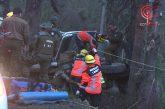 Cuatro Carabineros lesionados dejó volcamiento de patrulla de Fuerzas Especiales en sector La Rinconada de Cañete