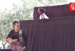 Teatro de títeres encantó a pequeños y grandes en Cañete