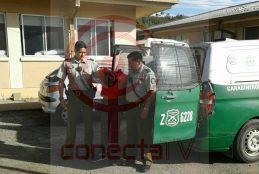 Carabineros detuvo a peligroso delincuente que atacó a tiros a joven de Arauco