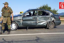 Un muerto, un lesionado de carácter reservado y dos leves deja fatal colisión en sector Peleco de Cañete.