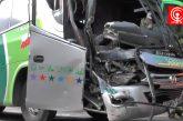 Más de 28 lesionados deja violenta colisión por alcance de buses en ruta Los Álamos – Cañete.