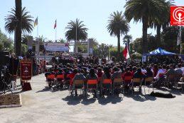 En Lebu se realizó el acto provincial de inauguración del año escolar