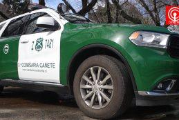Carabineros de Cañete ahora cuenta con tres modernas patrullas y un nuevo cuartel móvil.