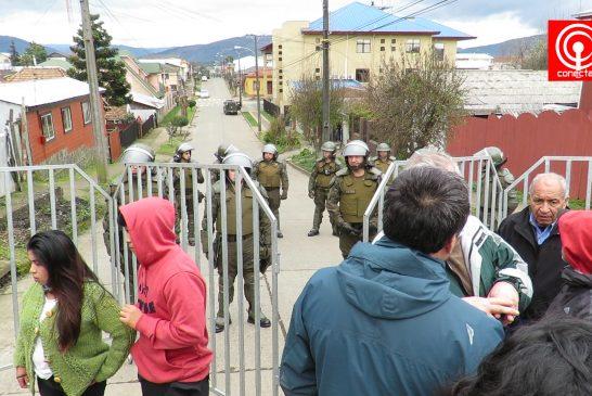 Penas de 5 y 3 años recibieron Mapuche sindicados de quemar maquinaria forestal en Cuyinpalihue de Cañete