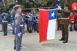 Carabineros de Cañete celebró el día del Patrullero Escolar.