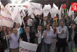 Más de 500 personas participaron del lanzamiento de campaña de Consejera Regional, Flor Weisse.
