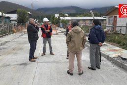 Un 60% de avance tiene mejoramiento de villorio rural de Tres Sauces en Cañete.