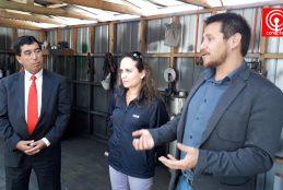 Municipio gestionó instalación de transformador eléctrico para pequeña empresa cañetina