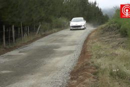 Municipio construyó camino vecinal para 5 familias del sector Caillin de Cañete