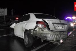 Comunidad llora a las 4 víctimas del accidente carretero de Lanalhue en Cañete.