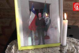 Familia cañetina de Carabinero asesinado en la región Metropolitana exige justicia.