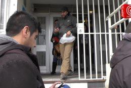 En Libertad y formalizado por atentado a la autoridad quedó el activista de la causa Mapuche, Emilio Berkhoff.