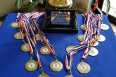 Deportistas cañetinos ganaron medallas de oro en torneos de futsal y levantamiento de pesas.