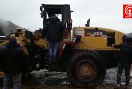 Queman cinco maquinarias en sector Trongol bajo de Los Álamos.