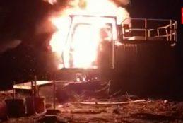 La CAM se adjudica violento atentado incendiario en Curanilahue