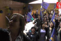 UDI Cañete celebró los 35 años de la fundación de este partido político.