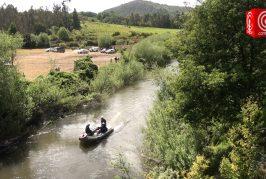 Chofer de automóvil que cayó del puente Ponotro lleva una semana extraviado y familia pide que la búsqueda no cese.