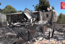 Queman sexta cabaña en Quidico y vecinos están atemorizados