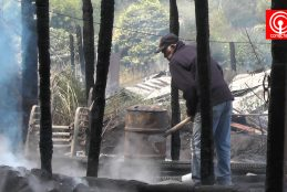 Queman casa y bodega ubicadas en predio que había sido blanco de encapuchados en julio de este año en zona de Elicura, Contulmo
