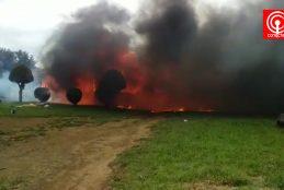 En nuevo atentado queman casa y galpón en sector rural Lleu Lleu de Cañete